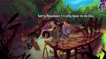 Kaptain Brawe: A Brawe New World: Screenshot zum Titel.