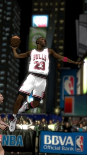 NBA 2K12: Screenshot aus dem Legenden-Showcase DLC