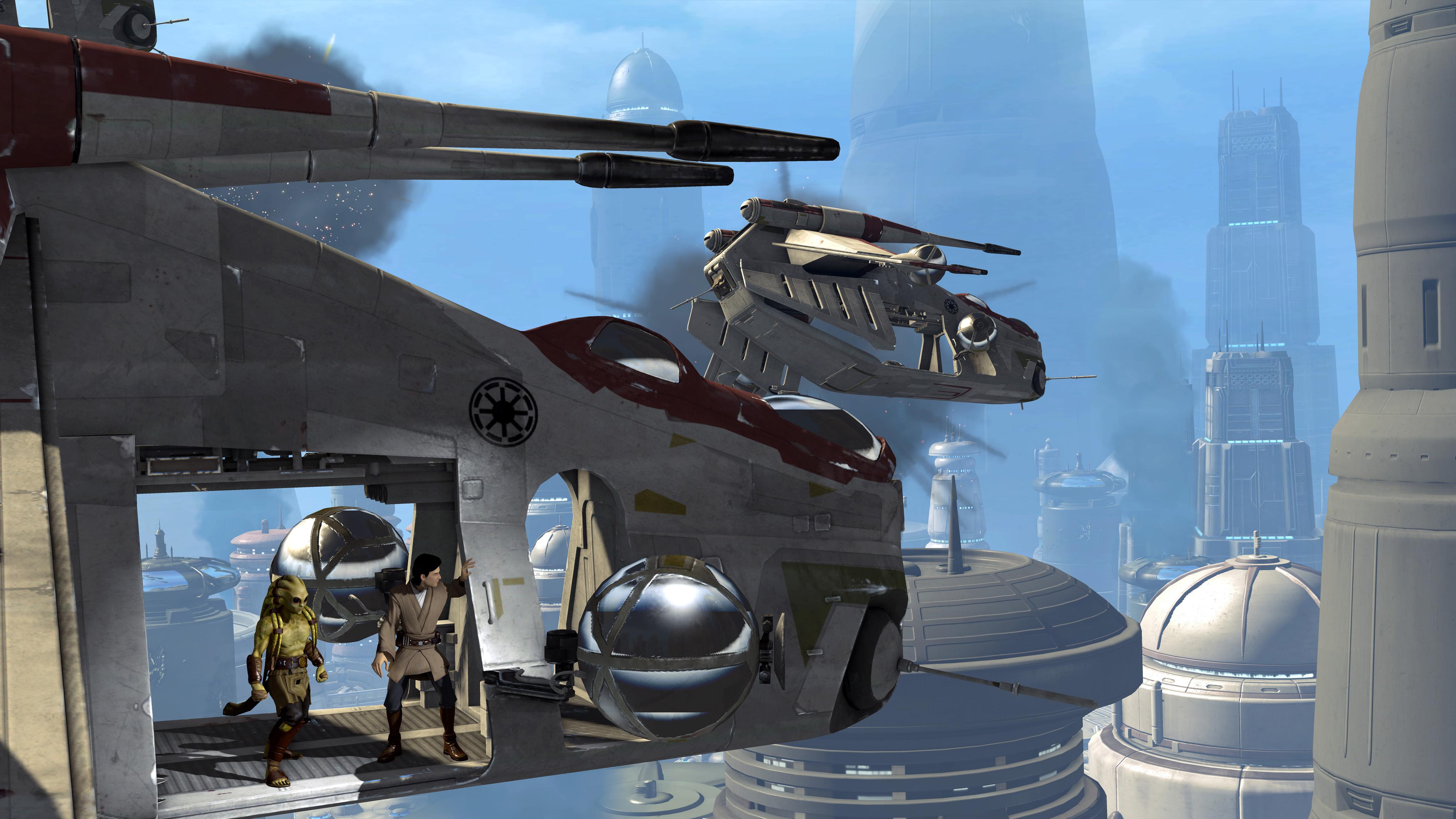 Kinect Star Wars: Kinect Star Wars Screenshot
