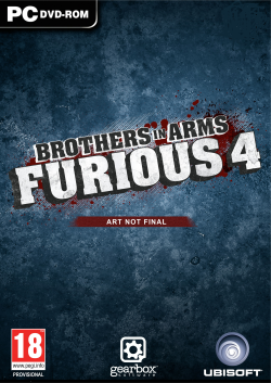 Logo for Brothers In Arms: Furious 4