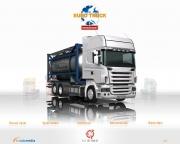 Euro Truck Simulator: EuroTruckSim - Scania BDF Tandem