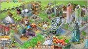 RamaCity: Vier Screenshots aus dem Aufbau Spiel von BigPoint