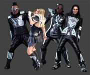 The Black Eyed Peas Experience: Screenshot aus dem Tanzspiel