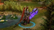 Rise of Immortals: Screen aus dem Online-Strategiespiels.