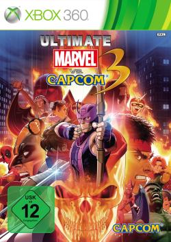 Logo for Ultimate Marvel vs. Capcom 3
