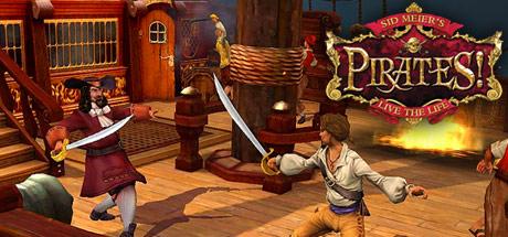 Logo for Sid Meier's Pirates!