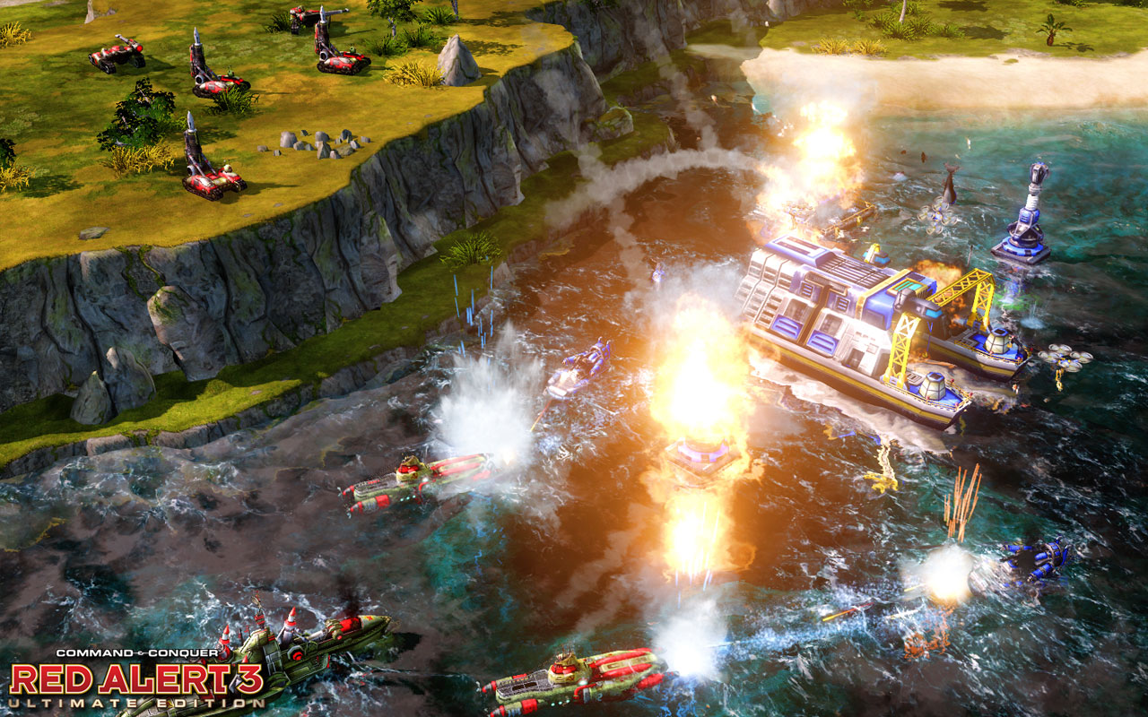 Command & Conquer: Alarmstufe Rot 3: Bild zur Alarmstufe Rot 3: Ultimate Edition für die PS3