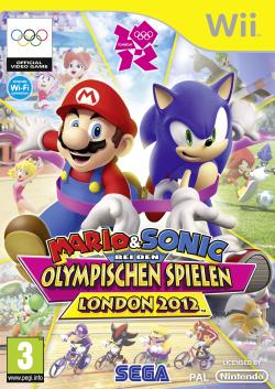 Logo for Mario & Sonic bei den Olympischen Spielen: London 2012