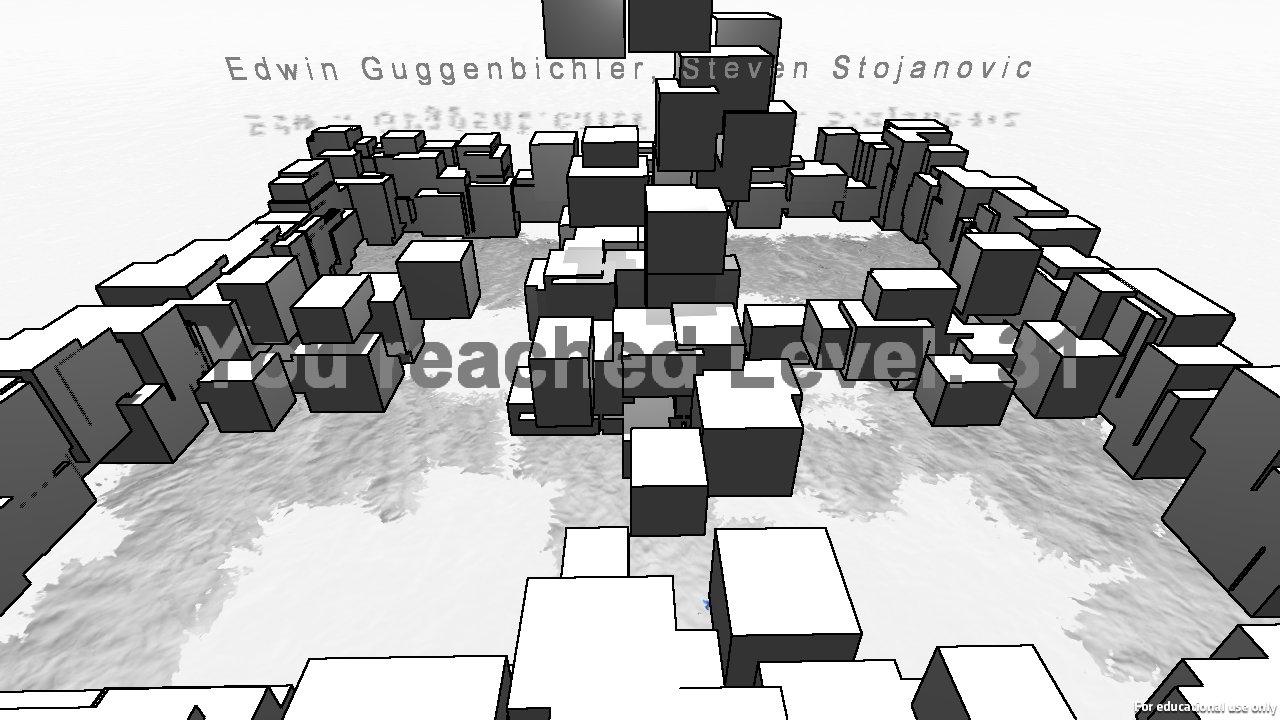 Evade: Screenshot vom Kinect Indie-Projekt