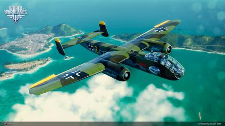 World of Warplanes - Neue deutsche Bomber starten durch