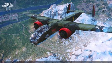 World of Warplanes: Neue deutsche Bomber Update
