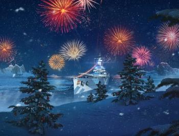 World of Warships - Weihnachtsevents mit dem Premium-Schiff Graf Spee als Gewinn gestartet