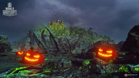 World of Warships - Update 0.6.12.1 bringt Mission für das Halloween-Event