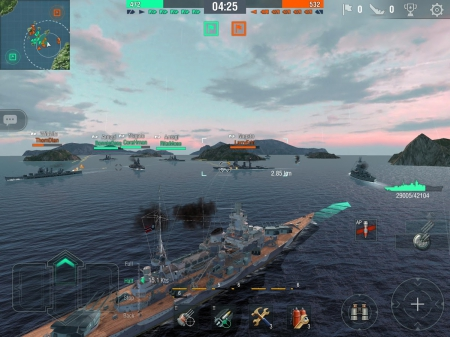 World of Warships - Mobile Version -Blitz- ab heute in den Appstores