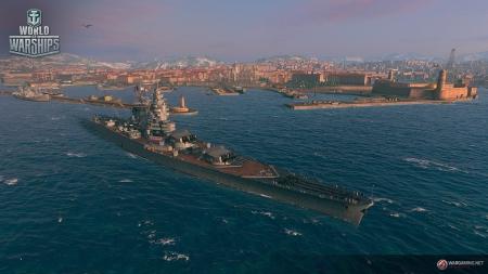 World of Warships: Marseille-Hafen - WoWs 0.7.1