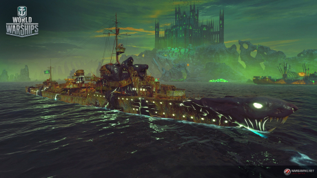 World of Warships: Halloween-Horror Event 2018