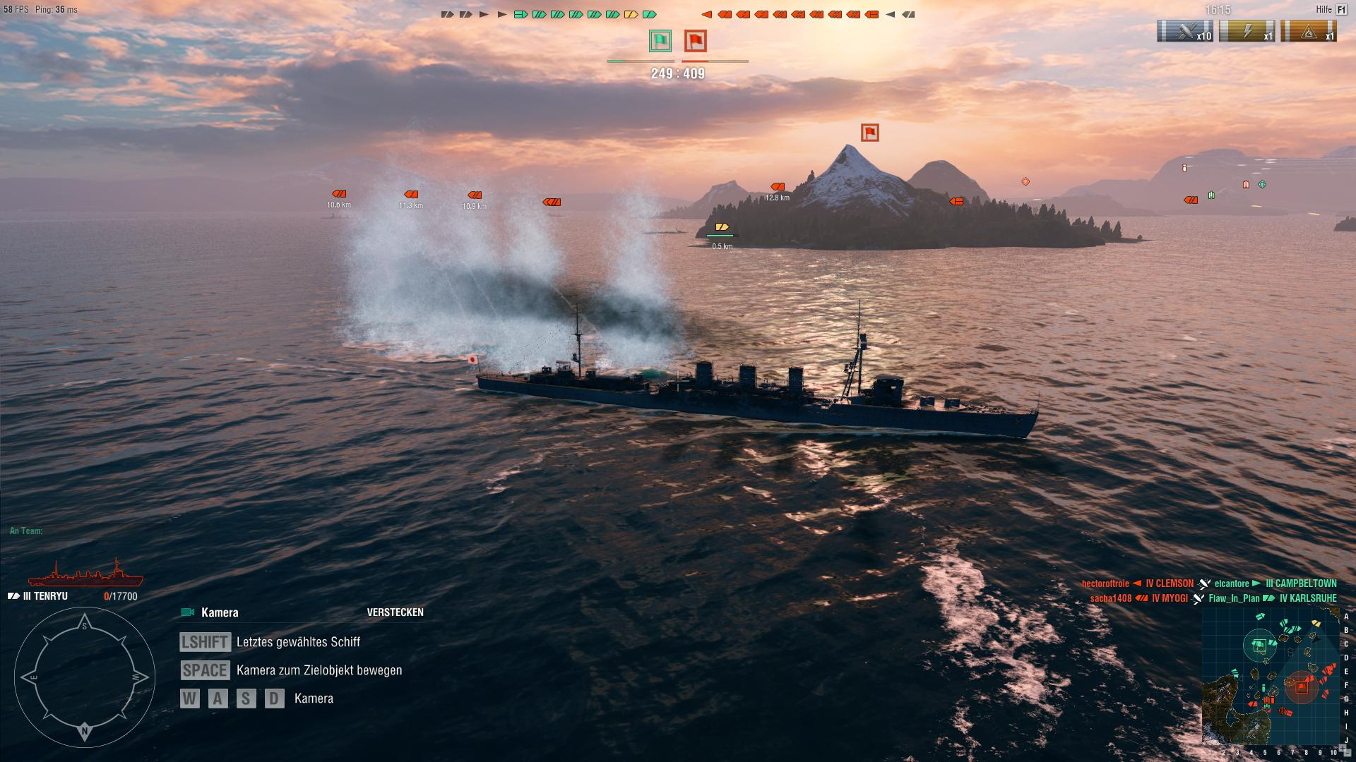 World of Warships: WoW - Screenshots aus dem Spiel