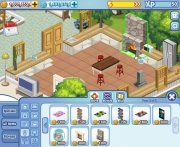The Sims Social: Screenshot aus dem Facebook-Spiel