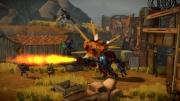 Shoot Many Robots: Screenshot aus der Roboter-Schlacht