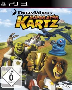 Logo for Dreamworks Superstar Kartz