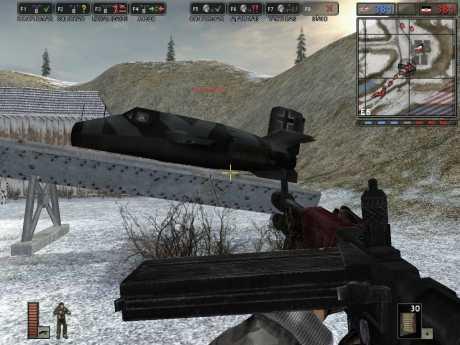 Battlefield 1942: Secret Weapons of WWII: Screen zum Spiel Battlefield 1942: Secret Weapons of WWII.