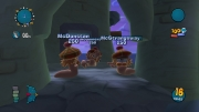 Worms: Ultimate Mayhem: Screenshot aus der Neuauflage von Worms 3D und Worms 4: Mayhem