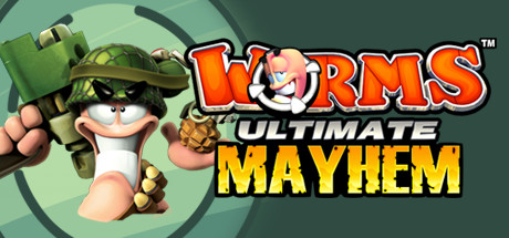 Logo for Worms: Ultimate Mayhem