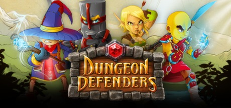Logo for Dungeon Defenders
