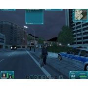 Polizei: Screen zur Simulation.