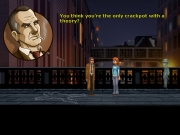 Blackwell Deception: Screen aus dem 4. Teil der Adventure Reihe.