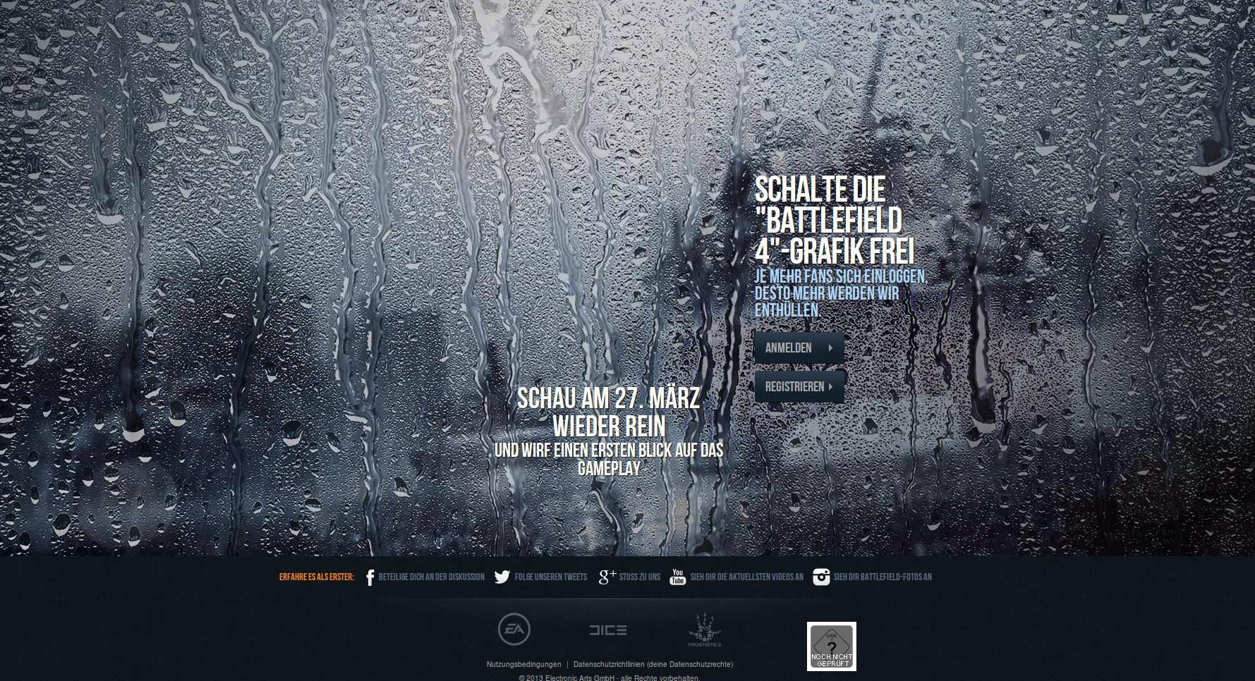 Battlefield 4: Teaser-Website zum Shooter