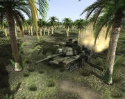 Steel Amor: Blaze of War: Screenshot aus der Panzer-Simulation