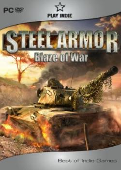 Logo for Steel Amor: Blaze of War