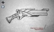 Steel Storm 2: Artwork Plasma Fintlock.