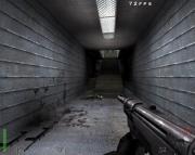 Return to Castle Wolfenstein: Typischer Gang in RTCW Maps.
