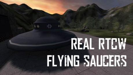 Return to Castle Wolfenstein - Flying Saucers