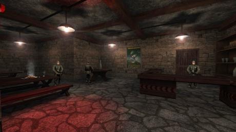 Return to Castle Wolfenstein: Screen zur Map Flying Saucers von Return to Castle Wolfenstein.