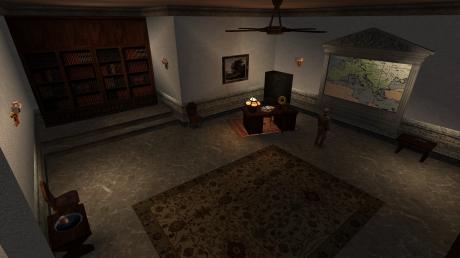 Return to Castle Wolfenstein: Screen zur RTCW Mod Wolfenstein: Enemy Territory Single-Player.