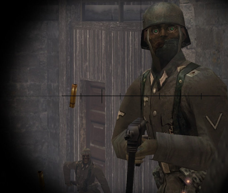 Return to Castle Wolfenstein: Screen aus der Mod Reich Re-Animation.