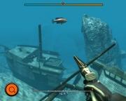 Depth Hunter: Screen aus der Unterwasserjagd.