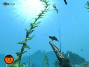Depth Hunter: Screen aus der Unterwasserjagd.