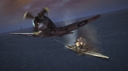 Damage Inc. Pacific Squadron WWII: Screenshot aus dem Kampfflugspiel