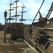 Hafen von Bosten