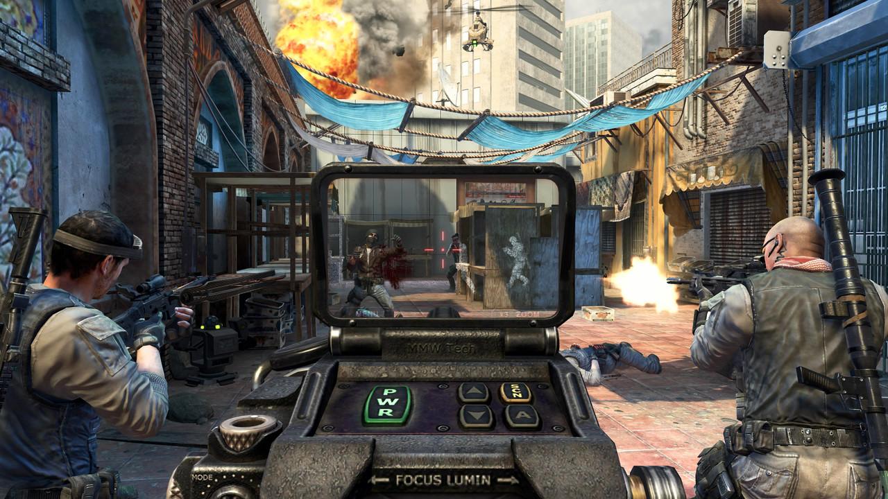 Call of Duty: Black Ops 2: Bunte Bilder aus dem Mehrspieler.