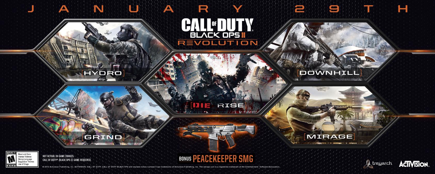 Call of Duty: Black Ops 2: DLC Revolution