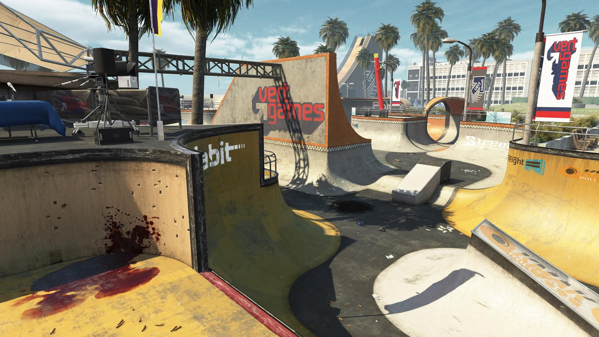 Call of Duty: Black Ops 2: Screenshot aus der DLC-Map Grind