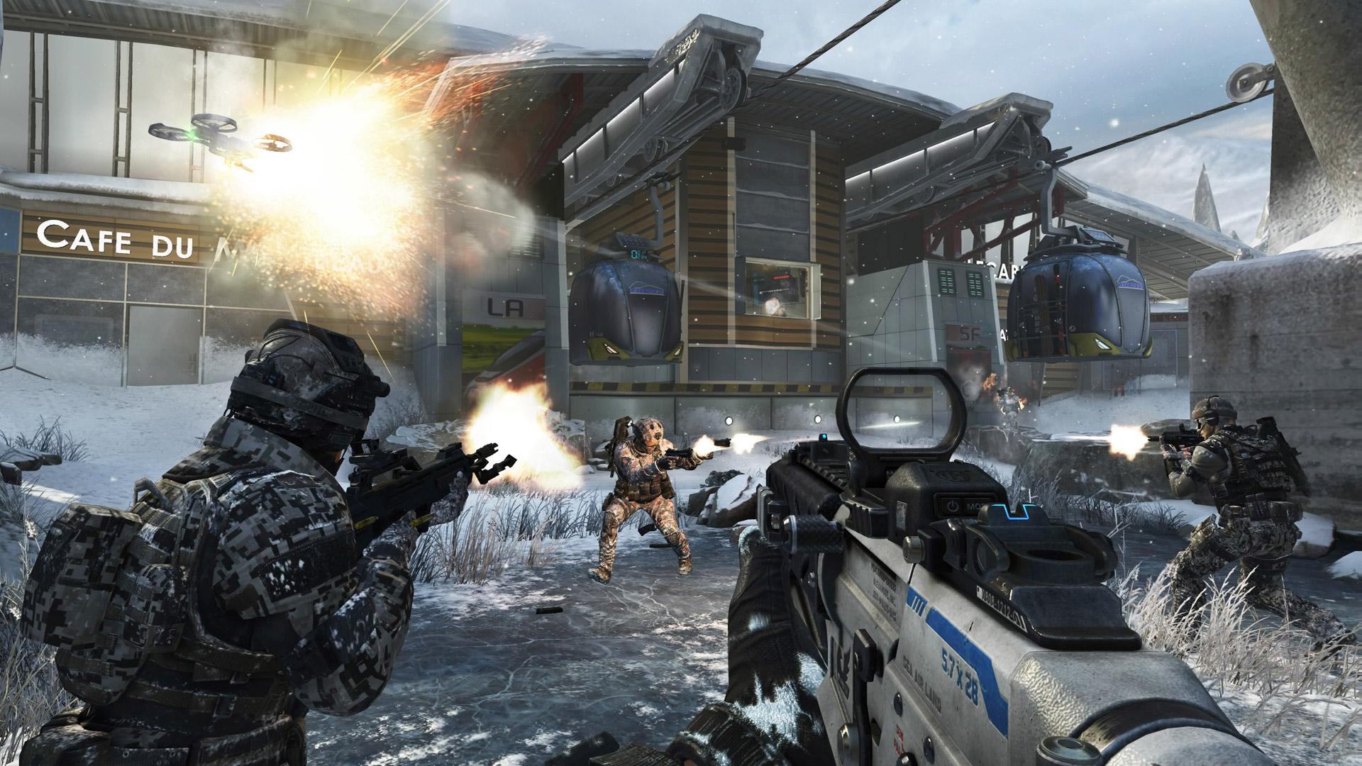 Call of Duty: Black Ops 2: Screenshot aus der DLC-Map Downhill