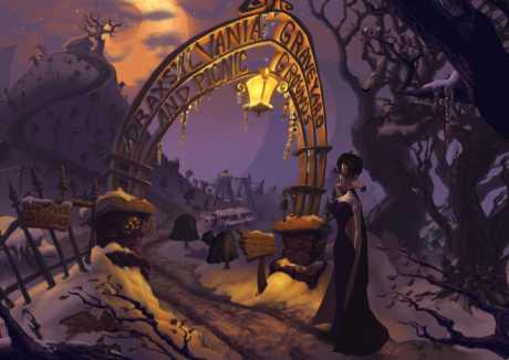 A Vampyre Story: Screen zum Spiel A Vampyre Story.