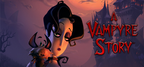 Logo for A Vampyre Story