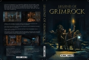 Legend of Grimrock: Offizielles DVD Box Cover.